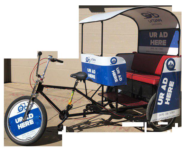 San Diego Urban Pedicabs company