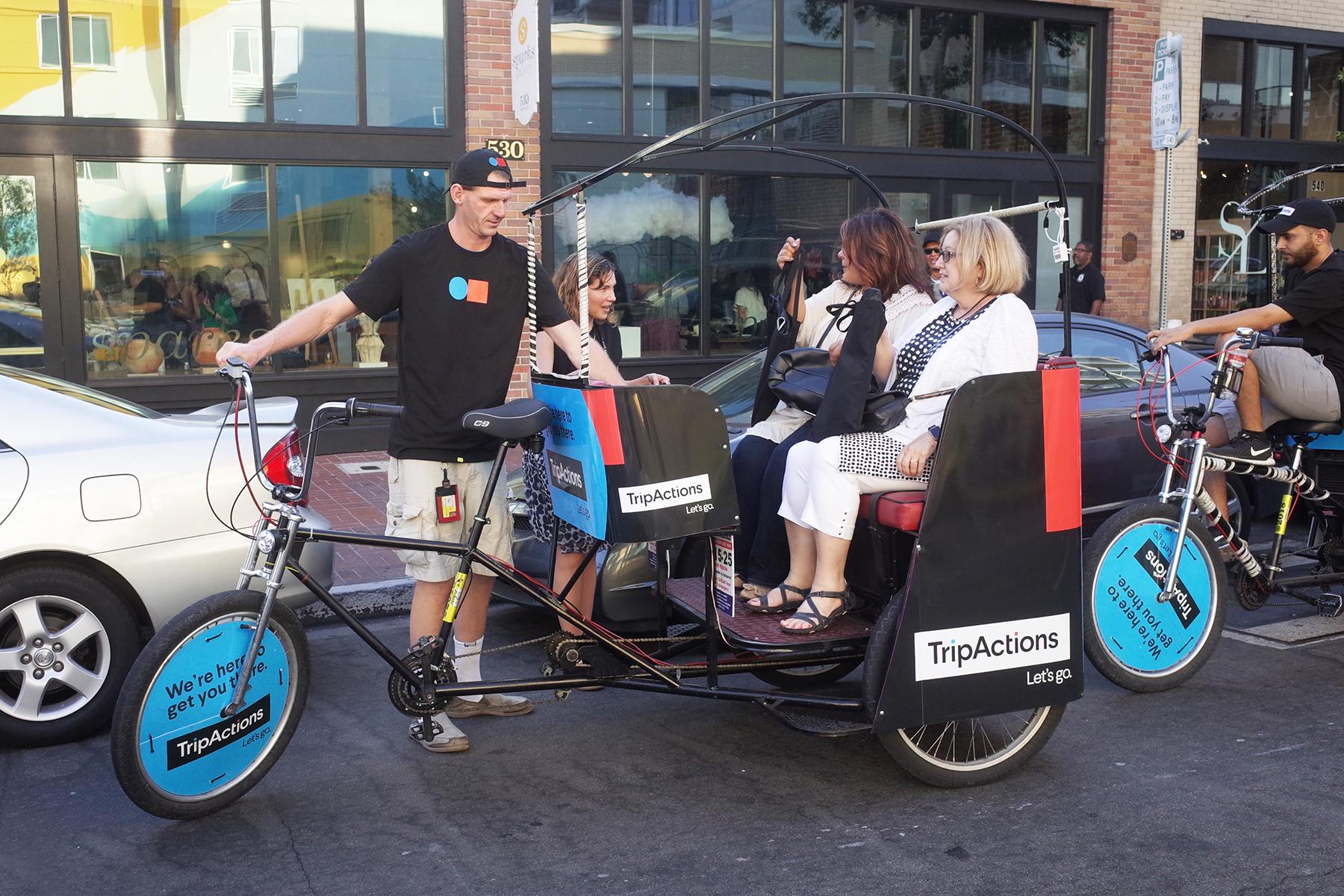 mobile pedicab advertising